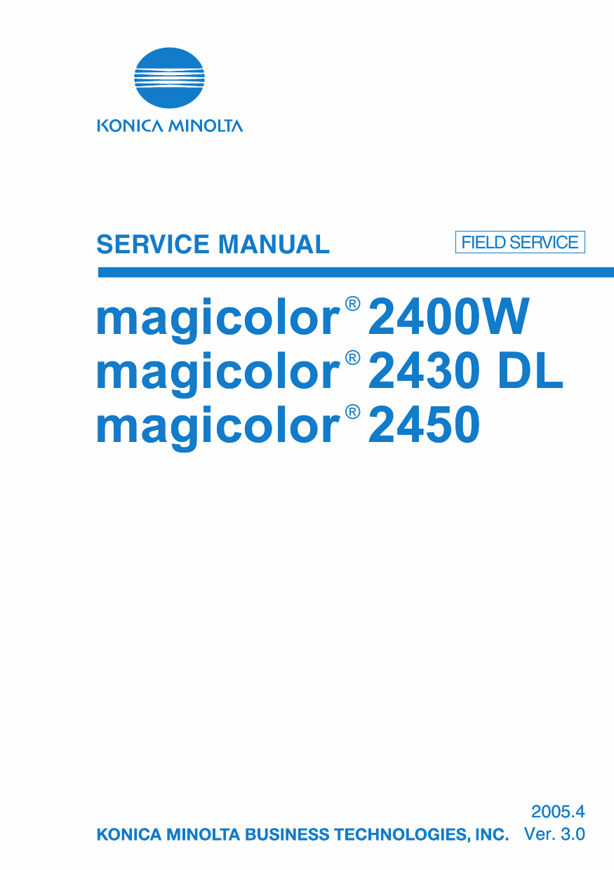 Magicolor 2400w